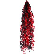Red & Black Curly Balloon Tail (1)