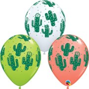 11 inch Cactuses Latex Balloon Assortment (25)