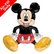 Mickey Mouse Sitter Foil Balloon (1)