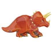 42 inch Triceratops Supershape Foil Balloon (1)