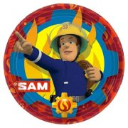 Fireman Sam Red Paper Plates (8)