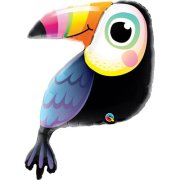 41 inch Colourful Toucan Foil Balloon (1)