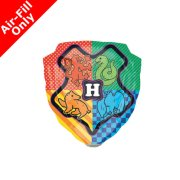 9 inch Harry Potter Hogwarts Foil Balloon (1) - UNPACKAGED
