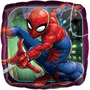 18 inch Spider-Man Animated Square Foil Balloon (1)