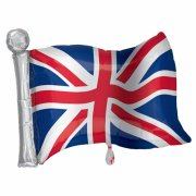 27 inch Great Britain Flag SuperShape Foil Balloon (1)
