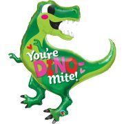 42 inch You're Dino-Mite Foil Balloon (1)