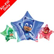 9 inch PJ Masks Foil Balloon (1) - UNPACKAGED