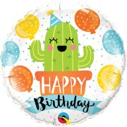 18 inch Birthday Party Cactus Foil Balloon (1)