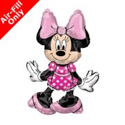 Minnie Mouse Sitter Foil Balloon (1)
