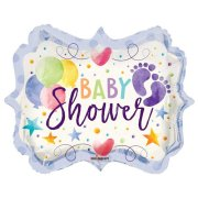 18 inch Baby Shower Colourful Marquee Foil Balloon (1)