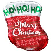 18 inch Christmas Stocking Foil Balloon (1)