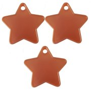 8g Small Rose Gold Star Weights (100)