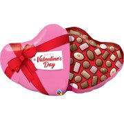 39 inch Valentine's Day Candy Box Foil Balloon (1)