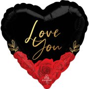 18 inch Love You Romantic Roses Foil Balloon (1)