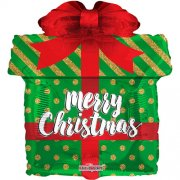 18 inch Christmas Gift Foil Balloon (1)