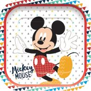 Awesome Mickey Mouse Square Paper Plates (4)