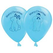 12 inch The Snowman & the Snowdog Latex Balloons (5)