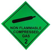 Compressed Gas Magnetic Vehicle Sticker (1)
