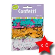 Pack of 6 Easter Triple Confetti Pack