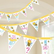 What Will it Bee? Pennant Banner - 4.57m (1)