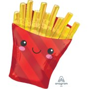 28 inch French Fries Supershape Foil Balloon (1)