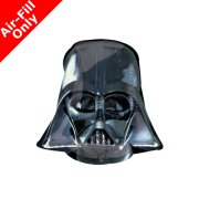 9 inch Darth Vader Helmet Foil Balloon (1) - UNPACKAGED