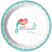 Ariel Under The Sea Paper Plates (8)