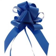 50mm Kaleidoscope Royal Blue Pull Bow (20)
