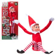 12 inch Bend & Pose Red Boy Elf Figure (1)