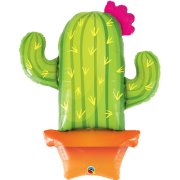 39 inch Potted Cactus Foil Balloon (1)