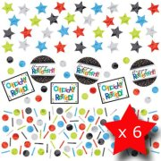 Pack of 6 Retirement Triple Confetti Pack
