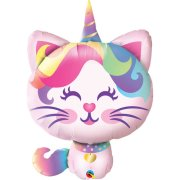 38 inch Mythical Caticorn Foil Balloon (1)