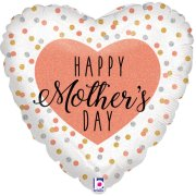 18 inch Mother's Day Glittering Rose Gold Foil Balloon (1)