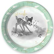 Bambi Cutie Paper Plates (8)