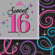 Sweet 16 Paper Napkins (16)