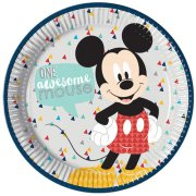 Awesome Mickey Mouse Paper Plates (8)