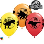 11 inch Jurassic World Assorted Latex Balloons (25)