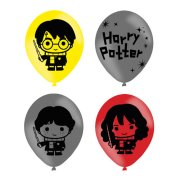 11 inch Harry Potter Character Assorted Latex Balloons (6)