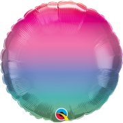 18 inch Jewel Ombre Foil Balloon (1) - UNPACKAGED
