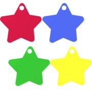 8g Small Primary Mixed Star Weights (100)