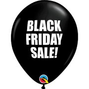 11 inch Black Friday Sale Latex Balloons (25)