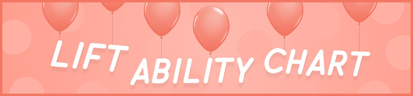 Lift Ability Chart image