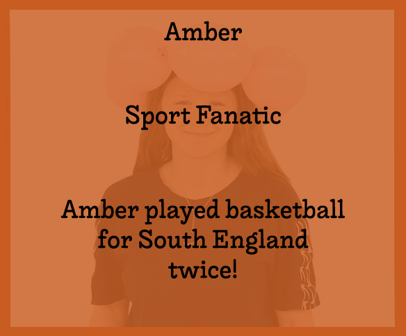 Amber Text