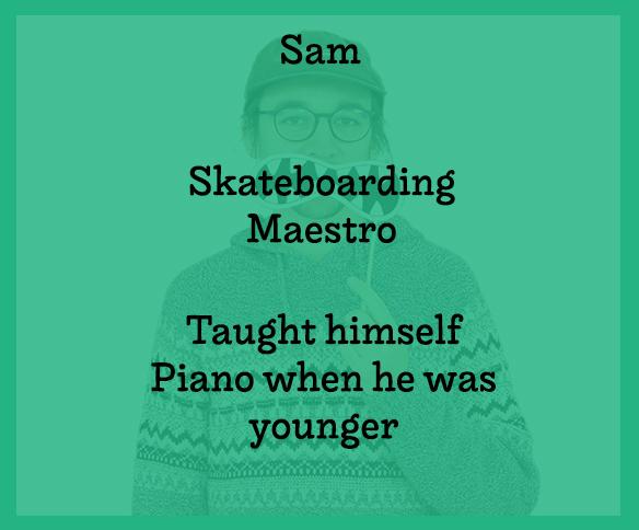 Sam Text