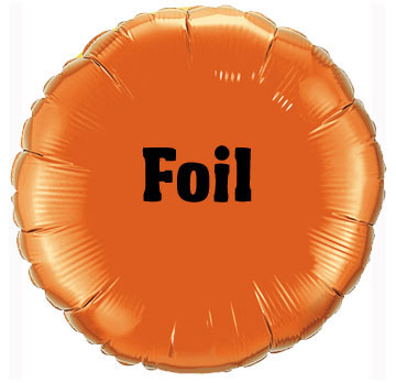 Foil Balloons - all shapes and sizes!
