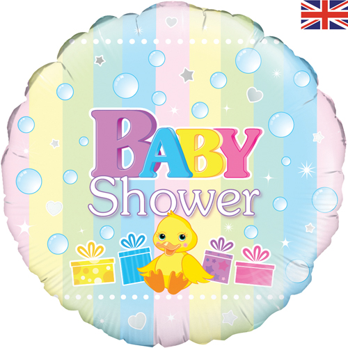 Uk Baby Shower Co: 18 Inch Baby Shower Foil Balloon (1