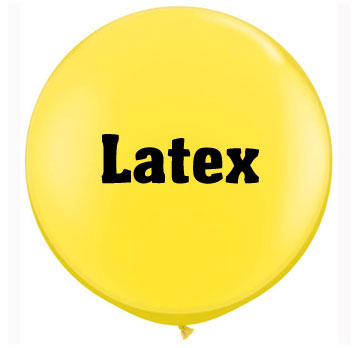 Latex Balloons - Plain, Themed, Modelling and more...