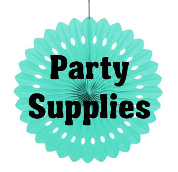 Party Supplies - from Banners to Tissue Paper Decorations...