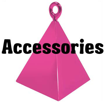 Accessories - Ribbon, Weights, Confetti and more...