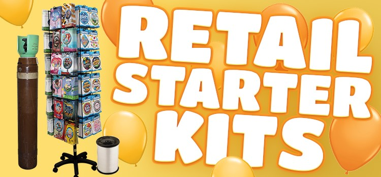 Save LOADS with our Retail Balloon Starter Kits..